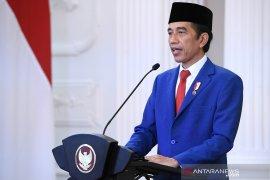 Pidato Presiden Jokowi terpilih ditampilkan di laman utama UN News