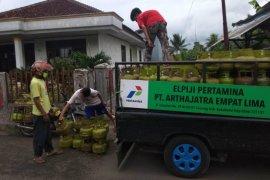 Pertamina pastikan stok LPG di Cicurug Sukabumi mencukupi kebutuhan warga