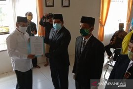 Bupati lantik Penjabat Kades dan anggota BPD