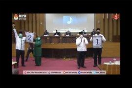 Hasil pengundian nomor urut paslon Pilkada Malang 2020