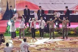 KPU Kabupaten Bandung tetapkan nomor urut tiga paslon Pilkada 2020