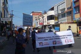 """Pemkot dan DPRD Cirebon """"demo"""" minta masyarakat taat protokol kesehatan"""