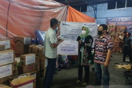 Jamkrindo salurkan bantuan untuk korban banjir bandang di Cicurug Sukabumi