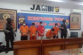 Polisi tangkap lima kurir sabu dikendalikan napi