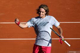French Open: Tsitsipas ke perempat final usai atasi Dimitrov