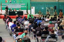733 orang melanggar protokol kesehatan di Sidoarjo jalani sidang tipiring