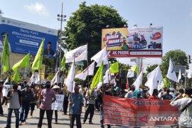 Warga dan aktivis Jambi aksi damai peringati hari tani