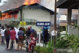 Asrama MTI Kapau Agam terbakar, kerugian capai Rp2 miliar