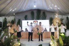 KPU Sulut undi nomor urut pasangan calon Gubernur/Wagub