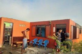 Puluhan rumah di Medan rusak diterjang angin puting beliung