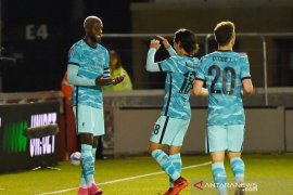 Liverpool menang telak atas Lincoln City di Piala Liga