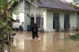 Sejumlah rumah di Aceh Timur terendam banjir akibat hujan deras