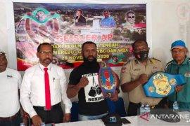 Petinju Jayawijaya Geisler Ap dan Rusli Baransano siap untuk laga WBC-WBA 28 November