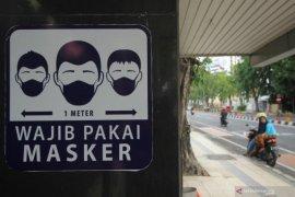 Alasan pelarangan makan di tempat adalah penggunaan masker