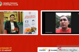 Manajemen tegaskan target Semen Padang lolos ke Liga 1