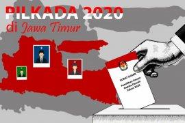 KPU Jatim: Ada dua daerah kandidatnya lawan bumbung kosong