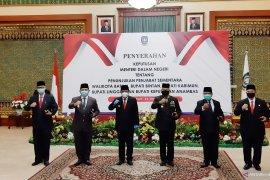 Lima Pjs bupati/wali kota di Kepri dilantik