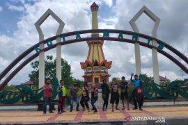 Jajal touring hingga perbatasan Malaysia, Biker YVC-I Banjarbaru Kampanyekan pariwisata