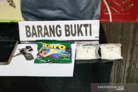 Polisi bekuk pemuda edarkan ratusan gram sabu-sabu
