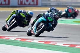 Morbidelli, Quartararo dan Rossi start terdepan di GP Catalunya
