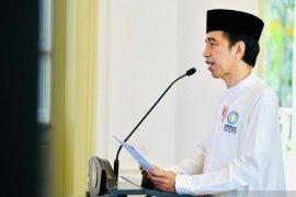 Presiden Jokowi kemukakan pentingnya kekompakan dalam mengatasi COVID-19