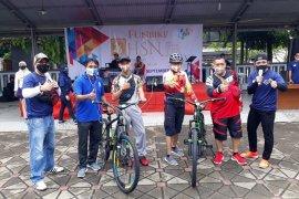 Sepeda santai meriahkan Hari Statistik Nasional di Jambi