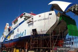Peluncuran KMP Aceh Hebat 1 direncanakan awal Oktober