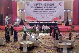 KPU Kabupaten Bandung dorong tiga paslon kampanye secara daring