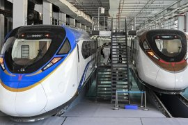China memiliki MRT tercepat mampu melaju hingga 160 kilometer per jam