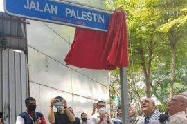 Sebuah jalan di Kuala Lumpur berubah menjadi Jalan Palestina