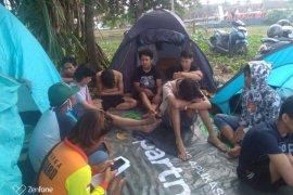 Tim SAR sisir  pantai cari wisatawan hilang di Pantai Ciantir Bayah