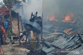 Tujuh rumah terbakar di Sei Merbau Tanjungbalai