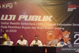 Hasil uji publik, KPU Kabupaten Serang perkirakan DPS alami perubahan