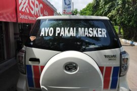 "Polres Batola sosialisasi ""Ayo Pakai Masker"""