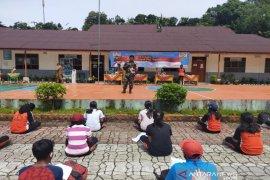 Personel TMMD bangun wawasan kebangsaan pelajar di Parlilitan