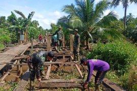 Karang Taruna Pulau Hanaut apresiasi kegiatan TMMD Kodim 1015/Spt