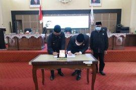 DPRD Balangan setujui Raperda perubahan tentang pajak bumu