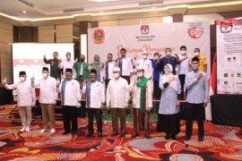 Ananda-Mushaffa siap sukseskan kampanye damai pada Pilkada Banjarmasin