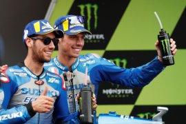 Catalunya jadi saksi Mir ukir sejarah buat Suzuki dengan hattrick podium