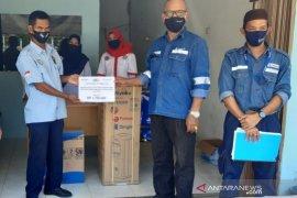 PT Timah bantu perlengkapan kantor K-SPSI Bangka Barat