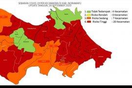 20 kecamatan di Kabupaten Indramayu masuk zona merah COVID-19