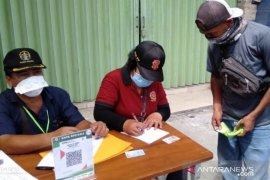 Tim Yustisi Denpasar lakukan operasi penegakan aturan protokol kesehatan