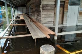 W Kalimantan: 216 homes flooded as Lake Sentarum overflows
