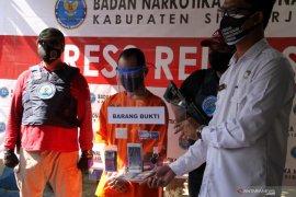 Ungkap Kasus Narkoba BNNK Sidoarjo