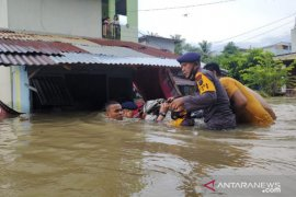Several hundred houses inundated in North Sumatra's Binjai