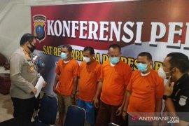 Polisi tangkap oknum pejabat Aceh Tenggara yang pesta narkoba di Medan