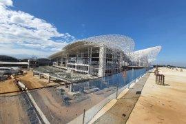 Pengembangan Bandara Sultan Hasanuddin capai 55,17 persen