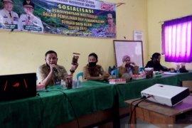 Dinas PMD Kalsel sosialisasi pemberdayaan masayarakat dan pemanfaatan SDA di Tapin