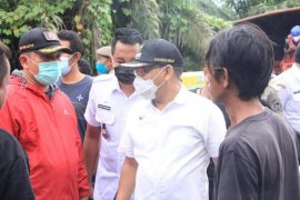 Wali Kota Binjai tinjau warga terdampak banjir