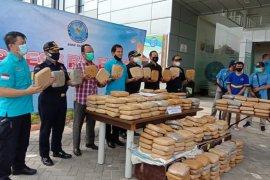BNNP Banten gagalkan penyelundupan 301 Kg ganja